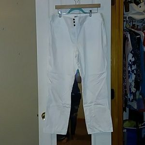 White slacks from style and company